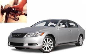Lexus GS fuel consumption, miles per gallon or litres – km