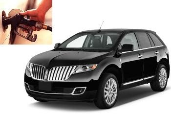 Lincoln MKX fuel consumption, miles per gallon or litres – km
