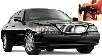 Lincoln Town Car fuel consumption, miles per gallon or litres – km