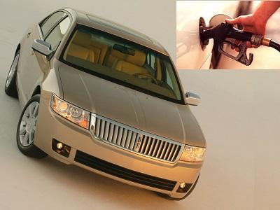 Lincoln Zephyr fuel consumption, miles per gallon or litres – km