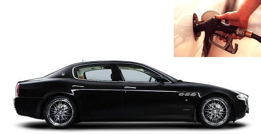 Maserati Quattroporte fuel consumption, miles per gallon or litres – km