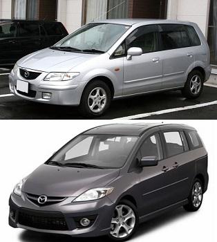 Mazda 5 fuel consumption, miles per gallon or litres – km