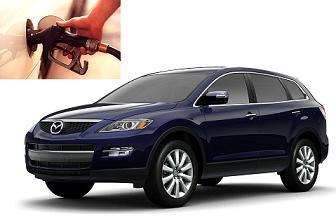 Mazda CX-9 fuel consumption, miles per gallon or litres – km