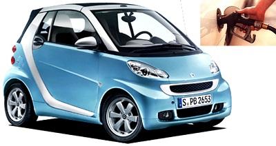 MCC Smart fuel consumption, miles per gallon or litres – km