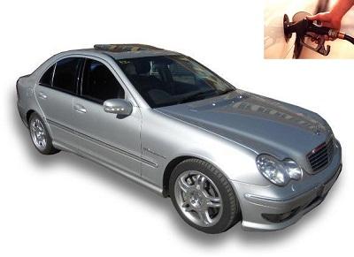 Mercedes Benz C 32 AMG fuel consumption, miles per gallon or litres – km
