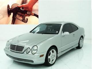Mercedes Benz CLK 430 fuel consumption, miles per gallon or litres – km