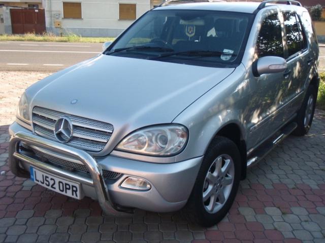Mercedes Benz ML 270 CDi fuel consumption, miles per gallon or litres – km